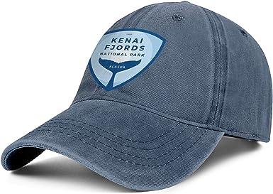 Unisex Mens Woman Caps Denim Arches-National-Park Designed Baseball Cap Hats