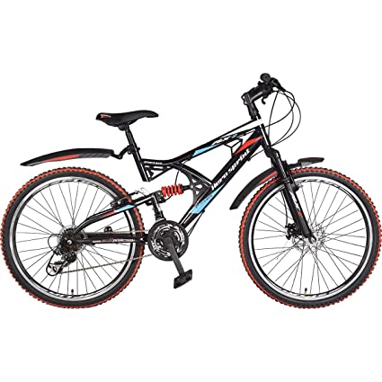 Hero Rx2 26t 21 Speed Sprint Cycle With Disc Brake Blackred