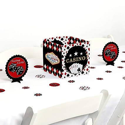 Brilliant Amazon Com Big Dot Of Happiness Las Vegas Casino Party Interior Design Ideas Helimdqseriescom
