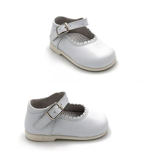 Blanc Chaussure Merceditas HKZmGR