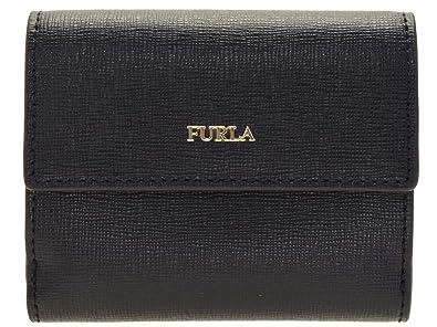 7c2fb0988ed5 Amazon | (フルラ) FURLA 財布 折財布 二つ折り ミニ コンパクト バビロン BABYLON S BI-FOLD レザー (ブラック)  [並行輸入品] | 財布