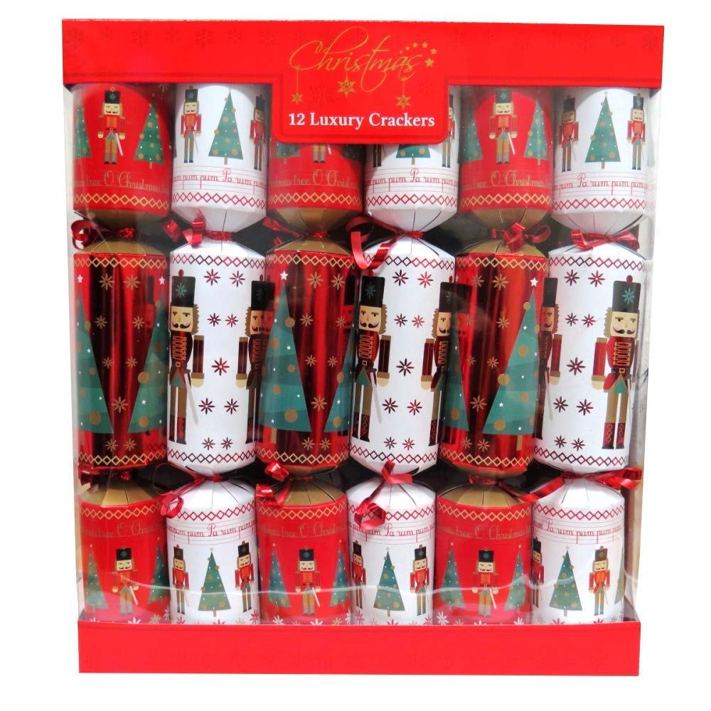 Toyland Pack of 12 Large Luxury Solidier Christmas Party Favors - Approx 33 x 5cm Party Favors by Toyland