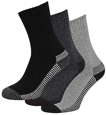 Mens Long Merino Lambs Wool Blend Winter Warm 2.4 Tog Socks Lambswool UK 6-11