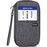 Defway - Funda para pasaporte y tarjetas de viaje