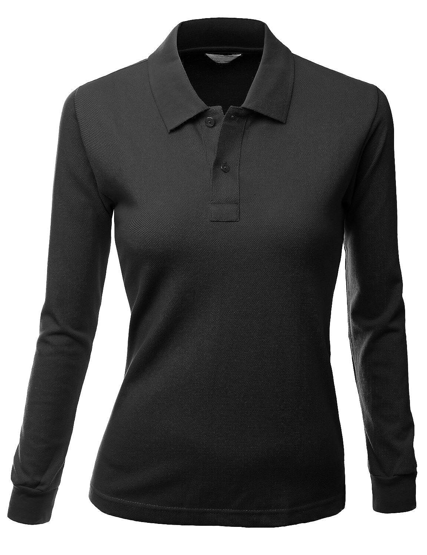 Amazon Womens Black Polo Shirt