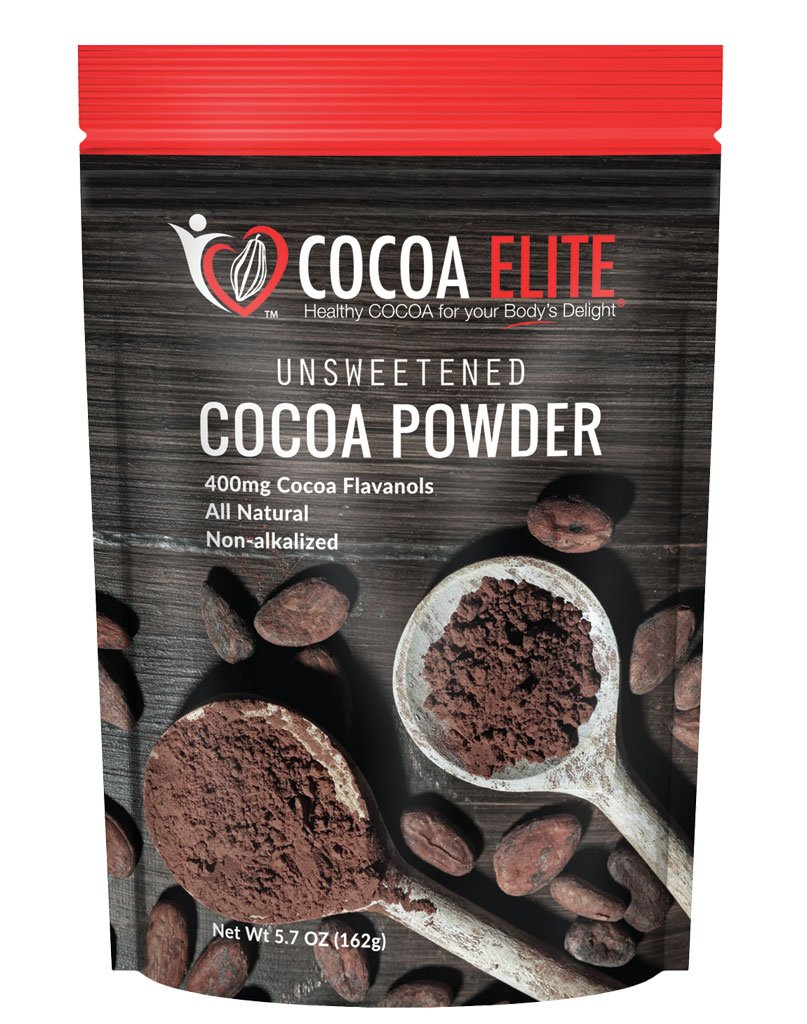 Cocoa Elite Complete Body Unsweetened Cocoa 5.68 oz