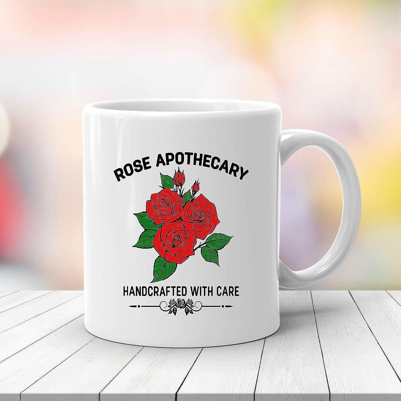 S Creek Alexis and Rose Apothecary Coffee Mug Set