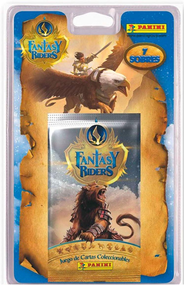 Panini Fantasy Riders - Blíster con 7 Sobres de Cartas: Amazon.es ...