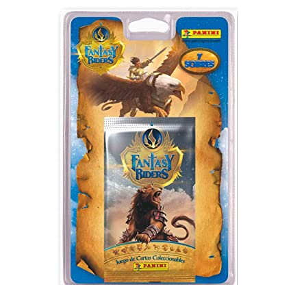 Amazon.com: Panini Fantasy Riders Blister Pack with 7 Card ...