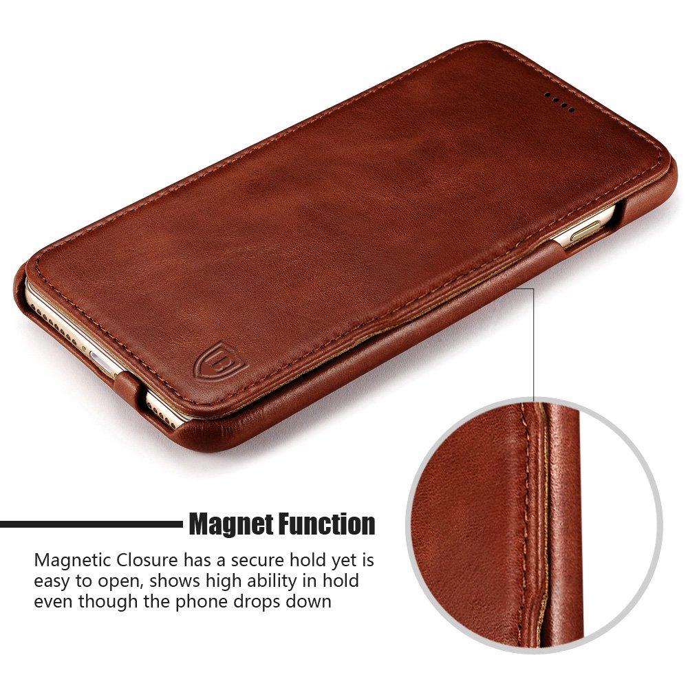 leather magnetic iphone 6 case