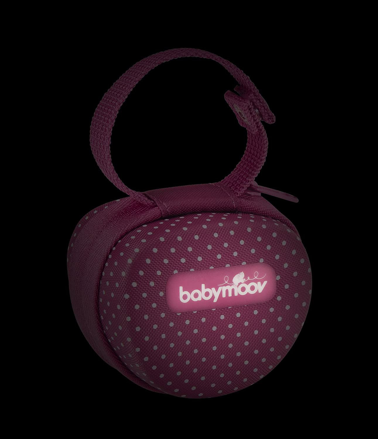 Babymoov Lovely A011201 - Portachupetes, para 0 m+, color rosa