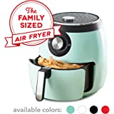 Dash DFAF455GBAQ01 Deluxe Electric Air Fryer plus Oven Cooker with Temperature Control, Non Stick Fry Basket, Recipe Guide pl