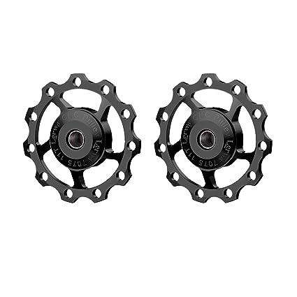 f27902dc9c0 LERWAY A-06 11T Bike Cycling Bicycle Aluminium Rear Derailleur Jockey Wheel  Pulley Guide Roller
