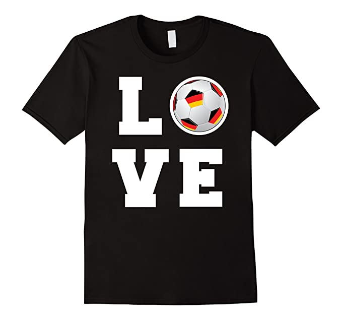 Amazon Love Soccer T Shirt Team Germany Soccer Fan By Zany