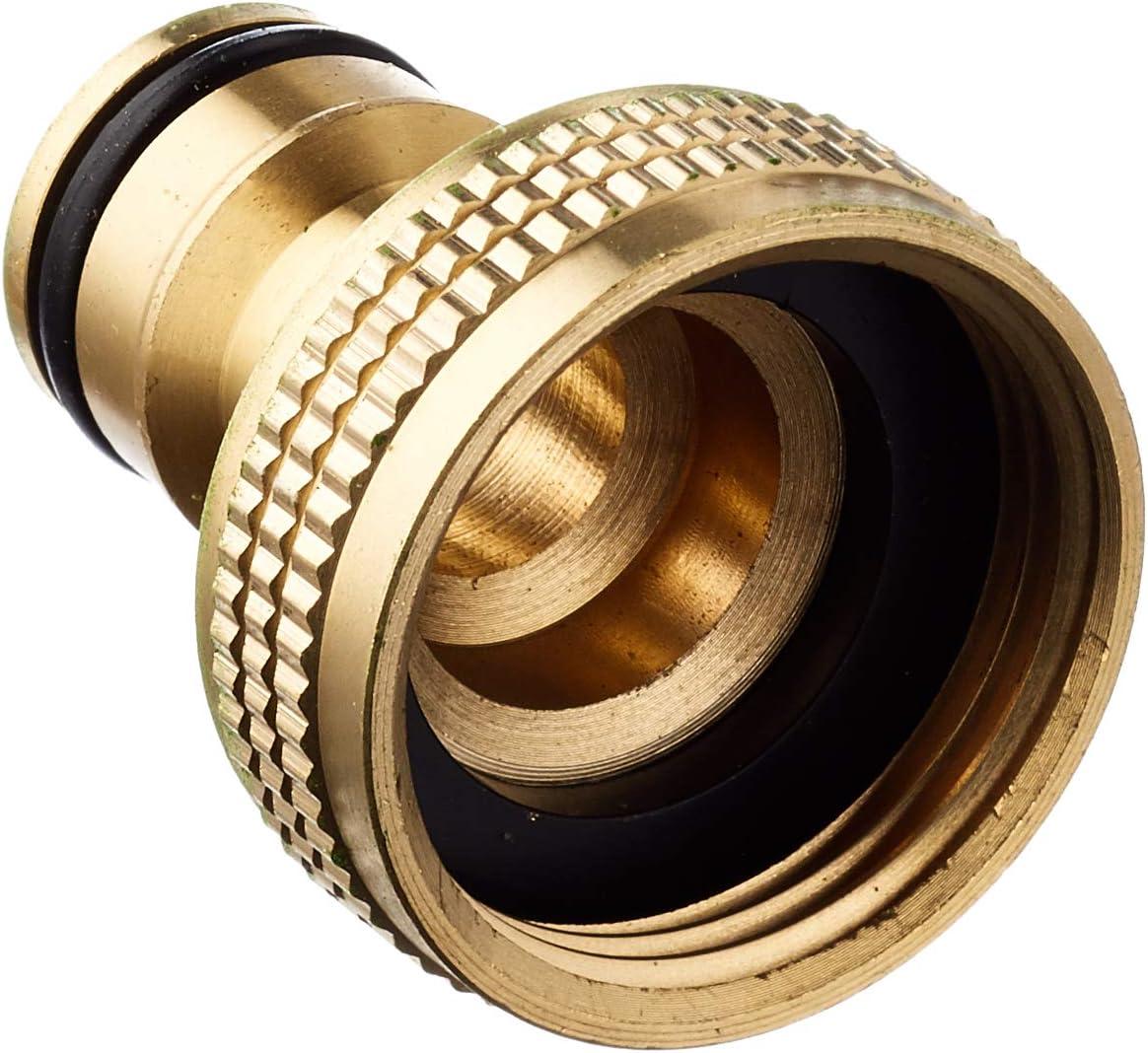 Boutté 0102709 Hahnanschlussstück Automatisch Messing Weiblich Adf20 Messing 3 6 X 3 5 X 3 Cm Baumarkt