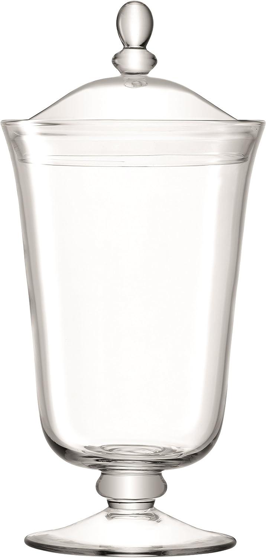 LSA International SZ33 Serve Bonbon Fashionable Jar Spasm price Clear H38cm