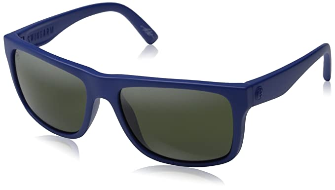 electric sunglasses  Amazon.com: Electric Swingarm Sunglasses, Alpine Blue/Melanin Grey ...