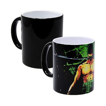 Reactive Piece Cup Heat Changing Tea Color One Zoro Mug Coffee iwlPZkXTOu