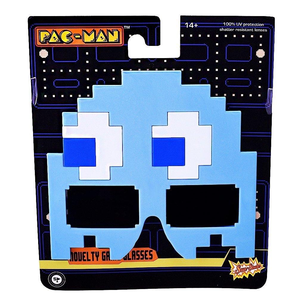 Sunstaches Pacman Blue Ghost Party Favors UV400