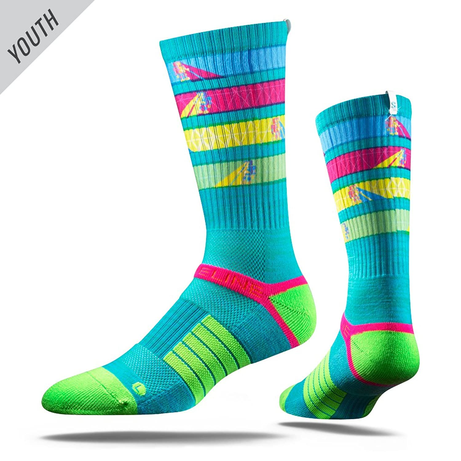 nice Strideline UV Ray Youth Strapped Fit 2.0 Sock for cheap