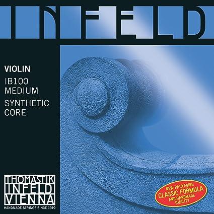 Thomastik Juego Completo Medium Violin 4//4 Infeld Roja//Ir100 CUERDAS VIOLIN