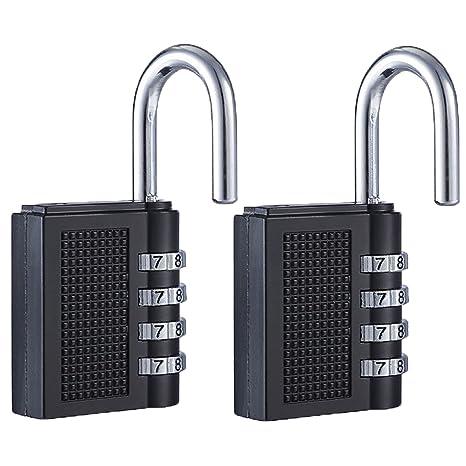 JOKHOO® - Candados de Equipaje TSA (2 Unidades) – 4 Dígitos de Combinación