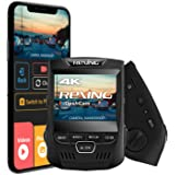 """Rexing V1 3rd Generation 4K UHD WiFi Car Dash Cam 2.4"""" LCD 170° Wide Angle Dashboard Camera Recorder with WiFi, 32GB…"""