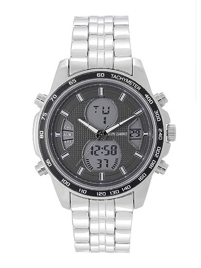 caae35c0049 Buy Steve Madden Analog-Digital Grey Dial Men's Watch-SMW214 Online ...
