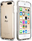 iPod Touch 5/6th Case, ULAK CLEAR SLIM Transparent iPod Touch Case Soft Flexible Thin Gel TPU Skin Scratch-Proof Case Cover for Apple iPod Touch 5th/6th Generation
