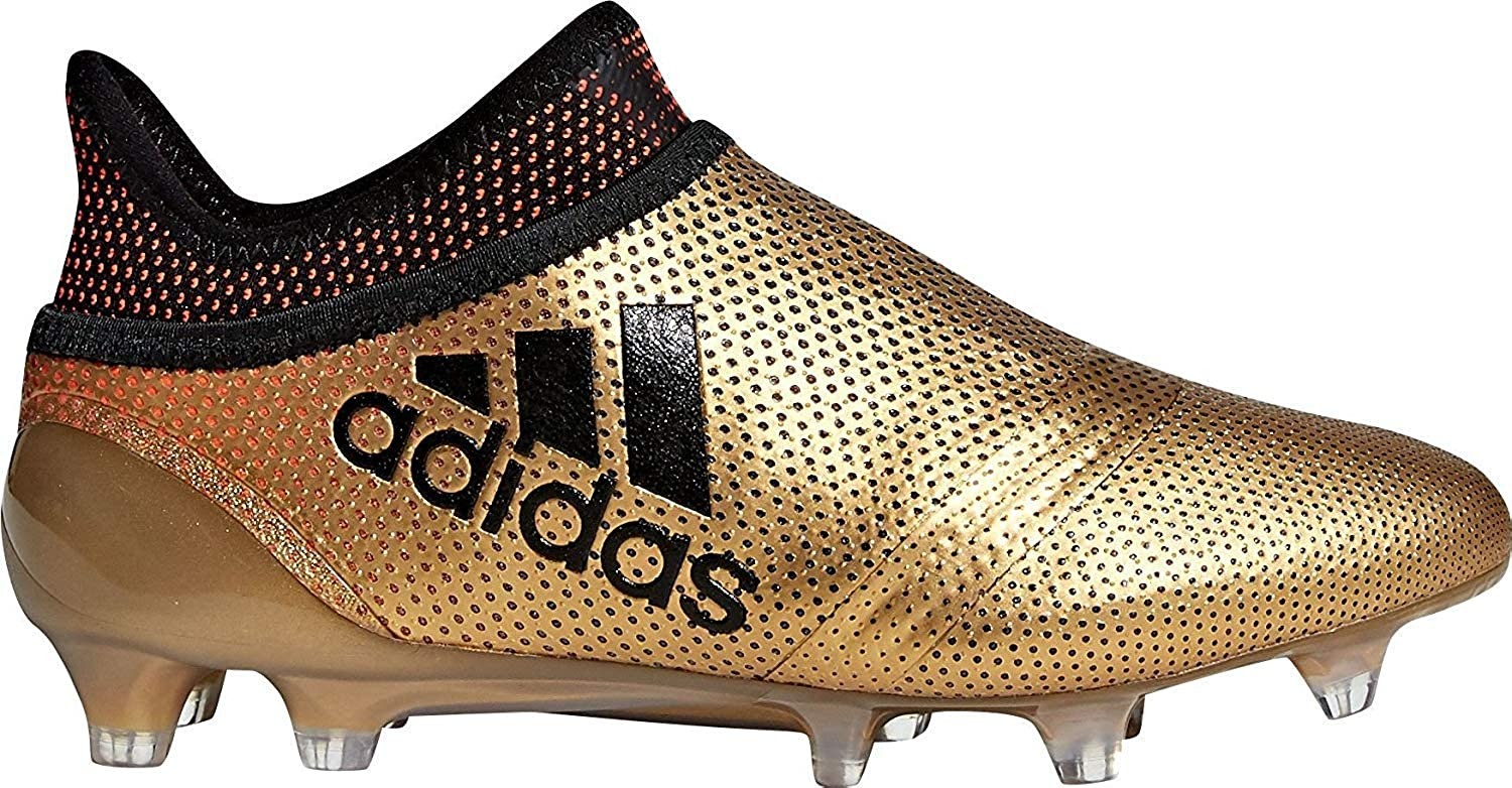buy popular 6e2ac 146f5 Amazon.com  adidas Youth X 17+ Purespeed FG Firm Ground Soccer Cleats   Soccer