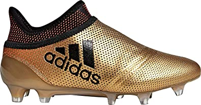32c51534c Amazon.com | adidas X 17+ FG Junior Soccer Cleats Gold-Black (4 ...