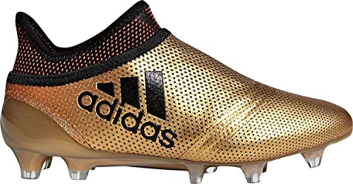 more photos d8be1 b1f55 adidas X 17+ FG Junior Soccer Cleats Gold-Black (5)