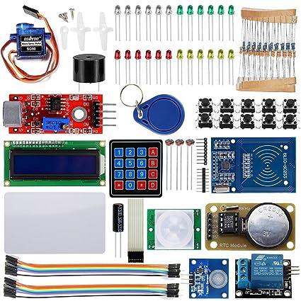 KOOKYE RFID Sistemas de llave maestra Para Arduino UNO R3 (15 Proyectos de Arduino)