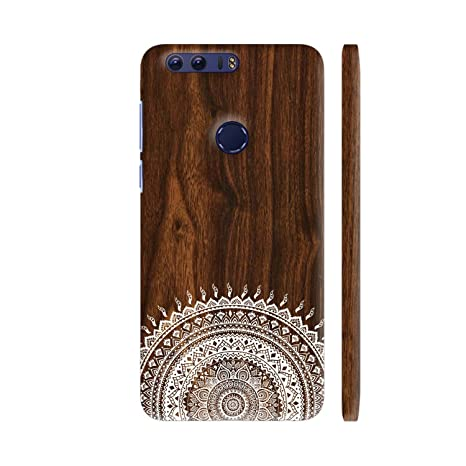 quite nice 3add0 9bcd5 Colorpur Indian Wood Printed Back Case Cover for Honor: Amazon.in ...