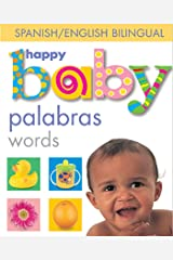 Happy Baby: Words Bilingual (Spanish Edition) Kindle Edition