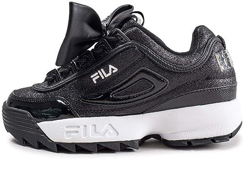 Fila Disruptor Glam Low Wmn Zapatillas Mujer Negro: Amazon.es: Zapatos y complementos
