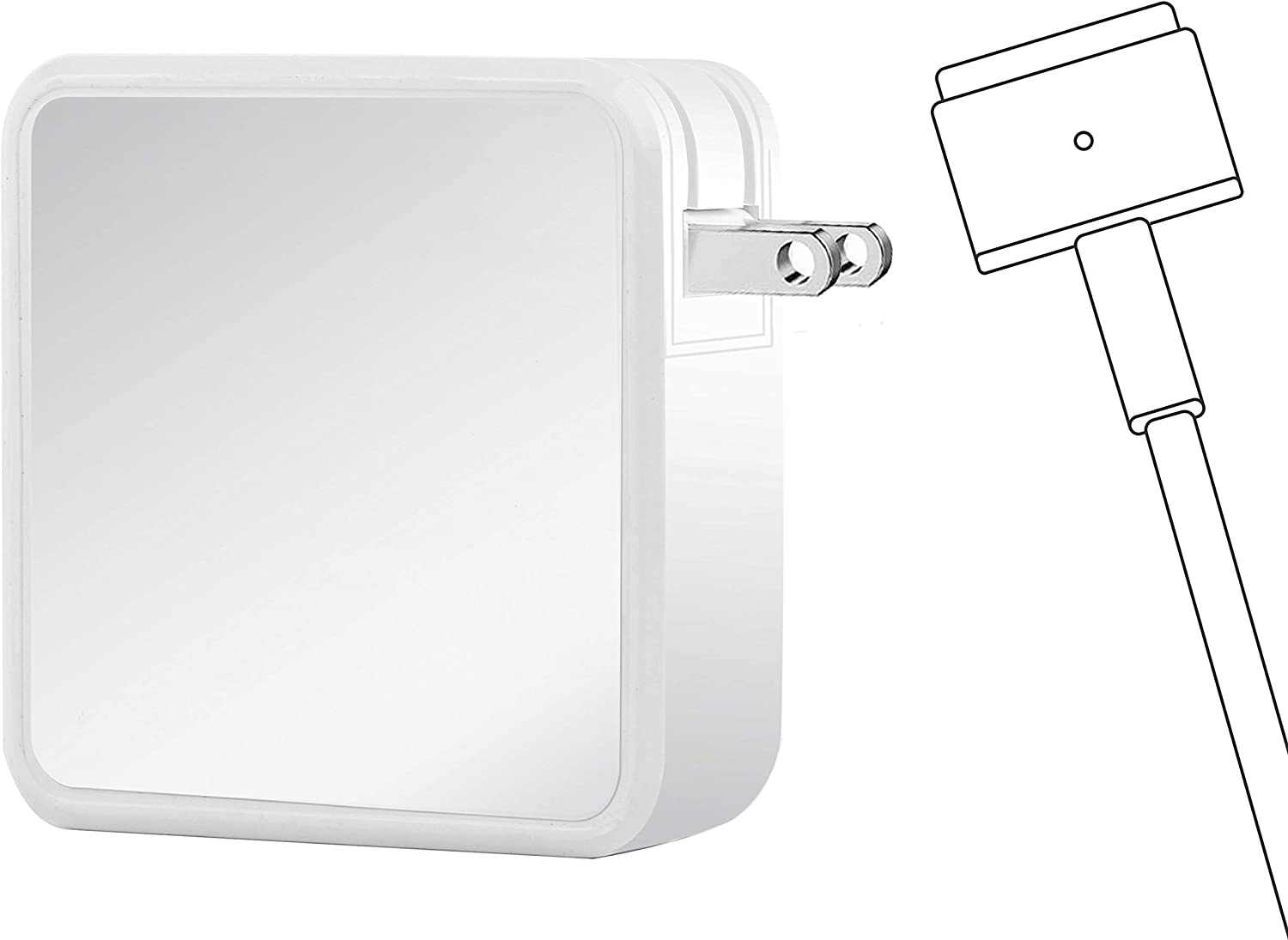 Charger for Mac Book Air, AC 45W T-Tip Magnetic Power Adapter for 11/13 inch Mac Book Air (After Mid 2012)
