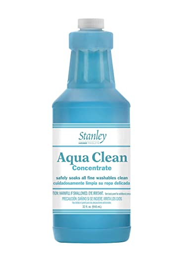 Stanley Home Products Aqua Clean Concentrate - Premium Multi Fabric Cleaner For Satin, Canvas, Suede - Deep Dry Cleaning For Car Interior, Carpet, ...