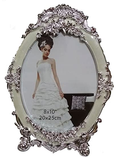 Buy Silver Plated Table Photo Frame Picture Size 8 Inches X 10
