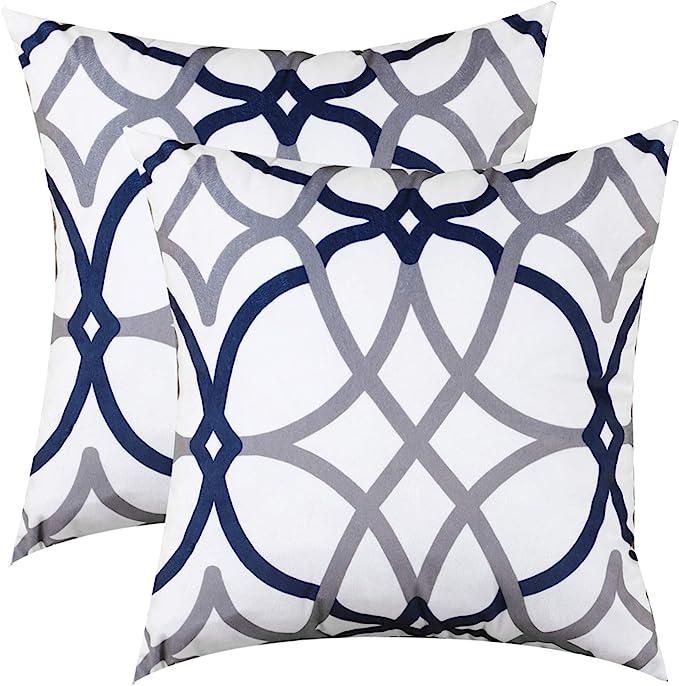 Luxury V Shape Neck Support Crushed Velvet Soft Pillow Case Cushion Covers