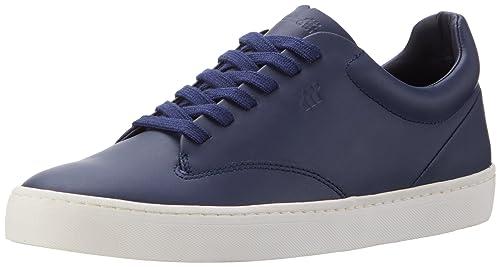 Boxfresh ESB Sh Lea, Sneaker Uomo, Blu (Blau Nvy), 44 EU