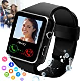 iFuntecky Smart Watch,Smartwatch for Android Phones,Smart Watches Touchscreen with Camera Bluetooth Watch Cell Phone with Sim