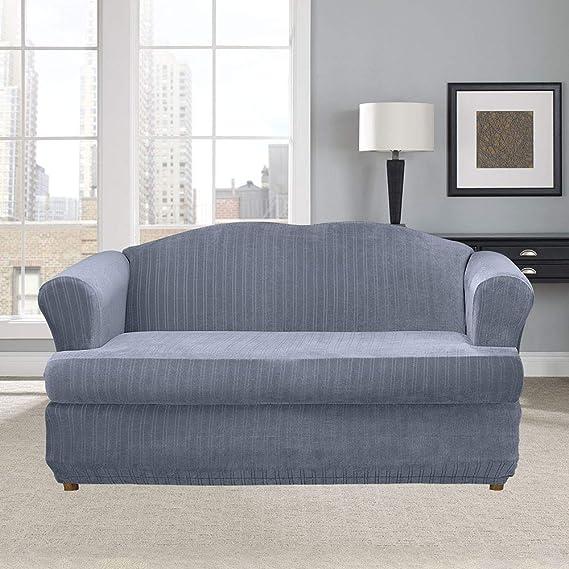 Amazon.com: Sure Fit - Funda elástica para sofá: Home & Kitchen