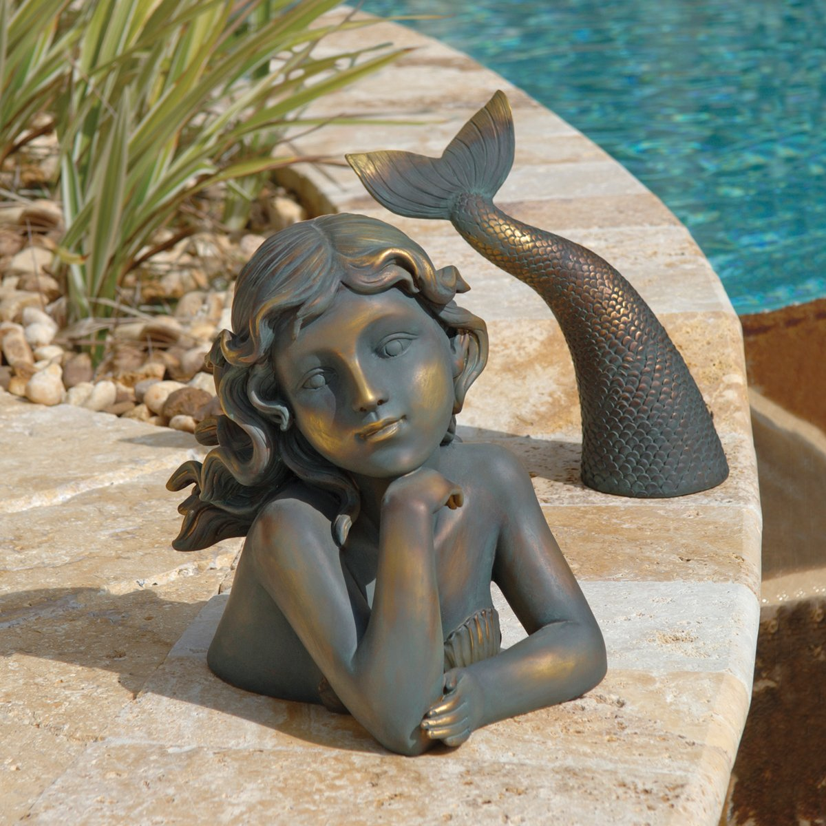 Exceptional Amazon.com : Design Toscano Merissa, Siren Of The Sea Mermaid Statue : Outdoor  Statues : Garden U0026 Outdoor