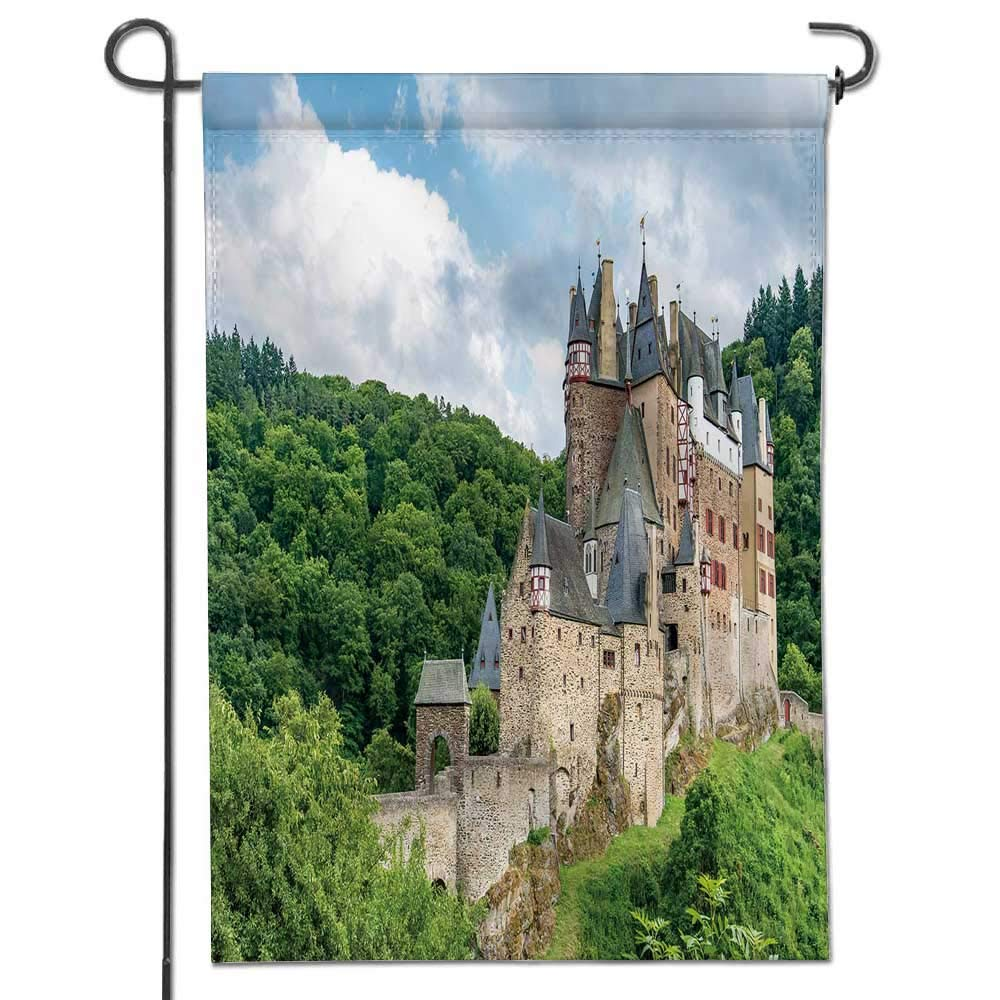 Amazon Com Jiahonghome Garden Flag Eltz Castle A Medieval Castle