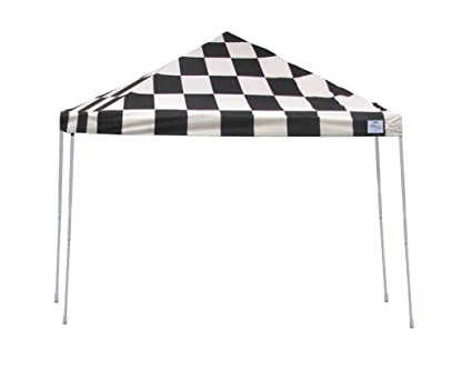 ShelterLogic Pro Series Straight Leg Pop-Up Canopy with Roller Bag, 12 x 12  ft