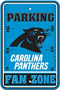 Fremont Die Official National Football League Fan Shop Authentic NFL Parking Sign (Carolina Panthers)