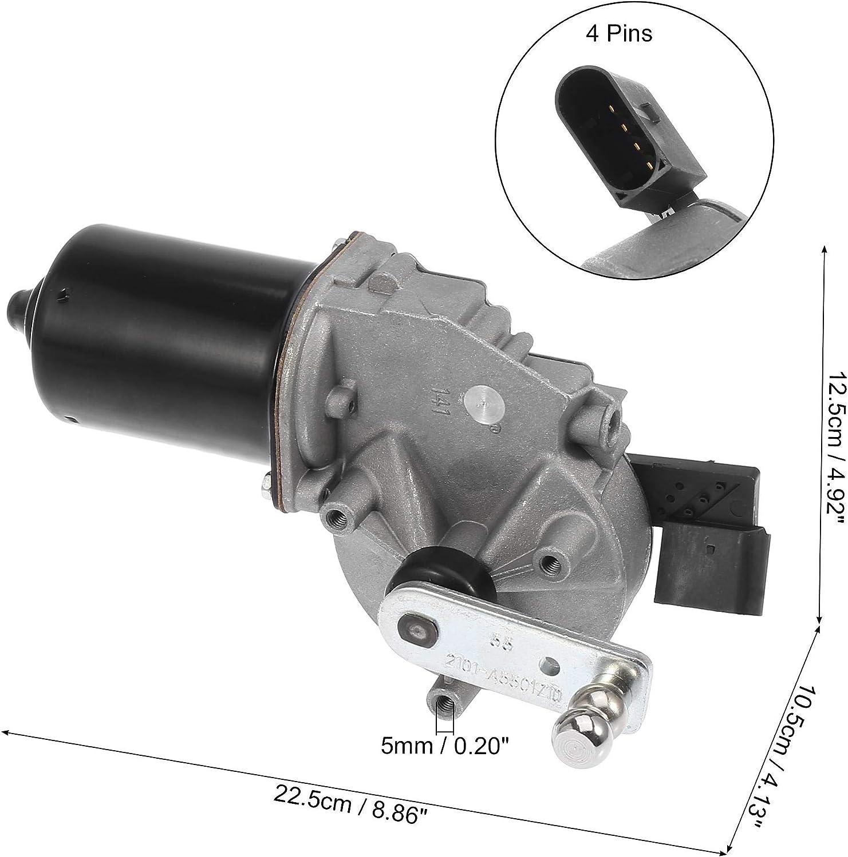 X AUTOHAUX Car Windscreen Wiper Motor 1648201742 for Mercedes-Benz ML500 ML350 2006-2011