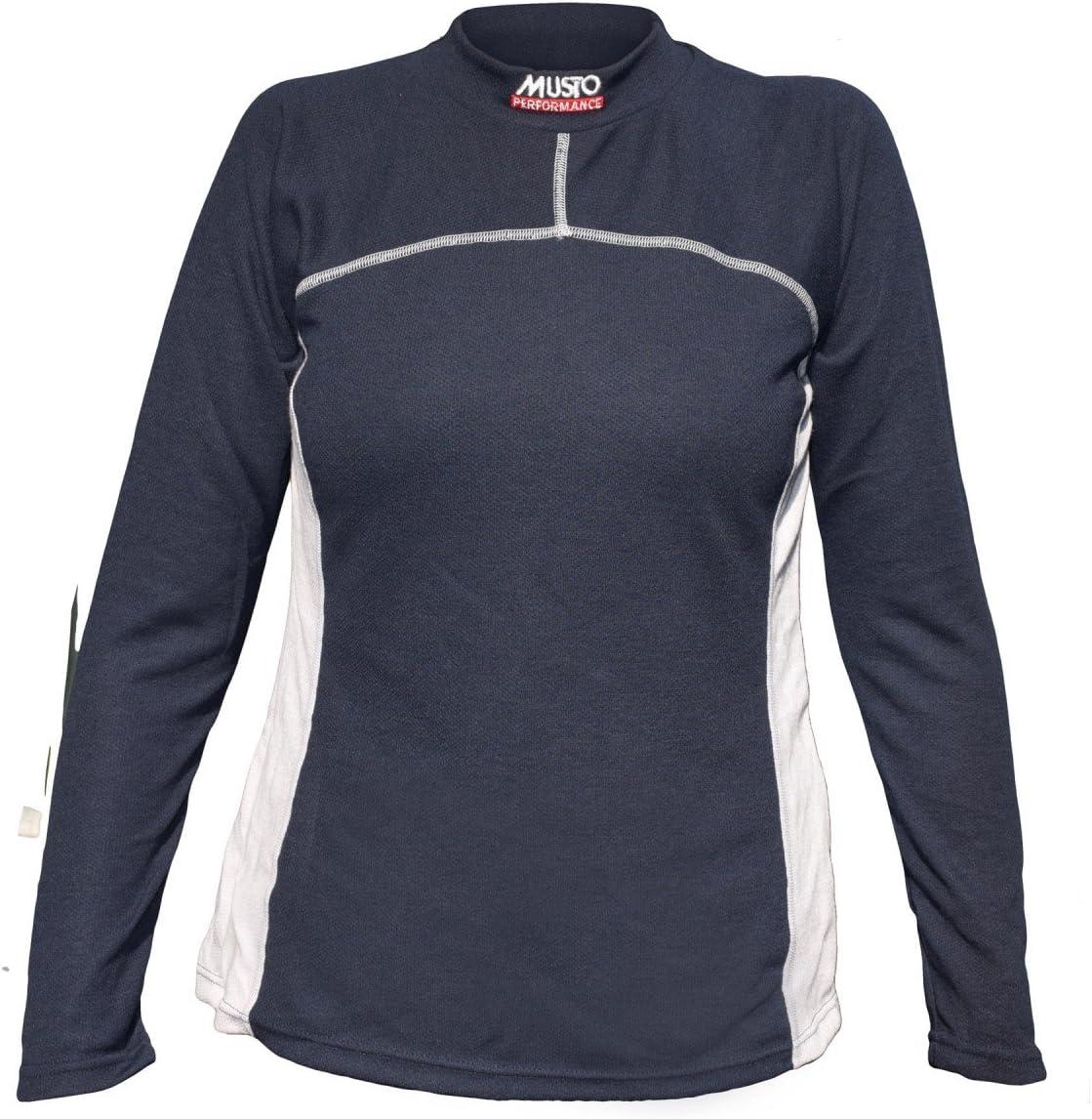 Musto Thermal Turtle Neck FW Ink/Silver Función Camiseta, tamaño: LS: Amazon.es: Deportes y aire libre