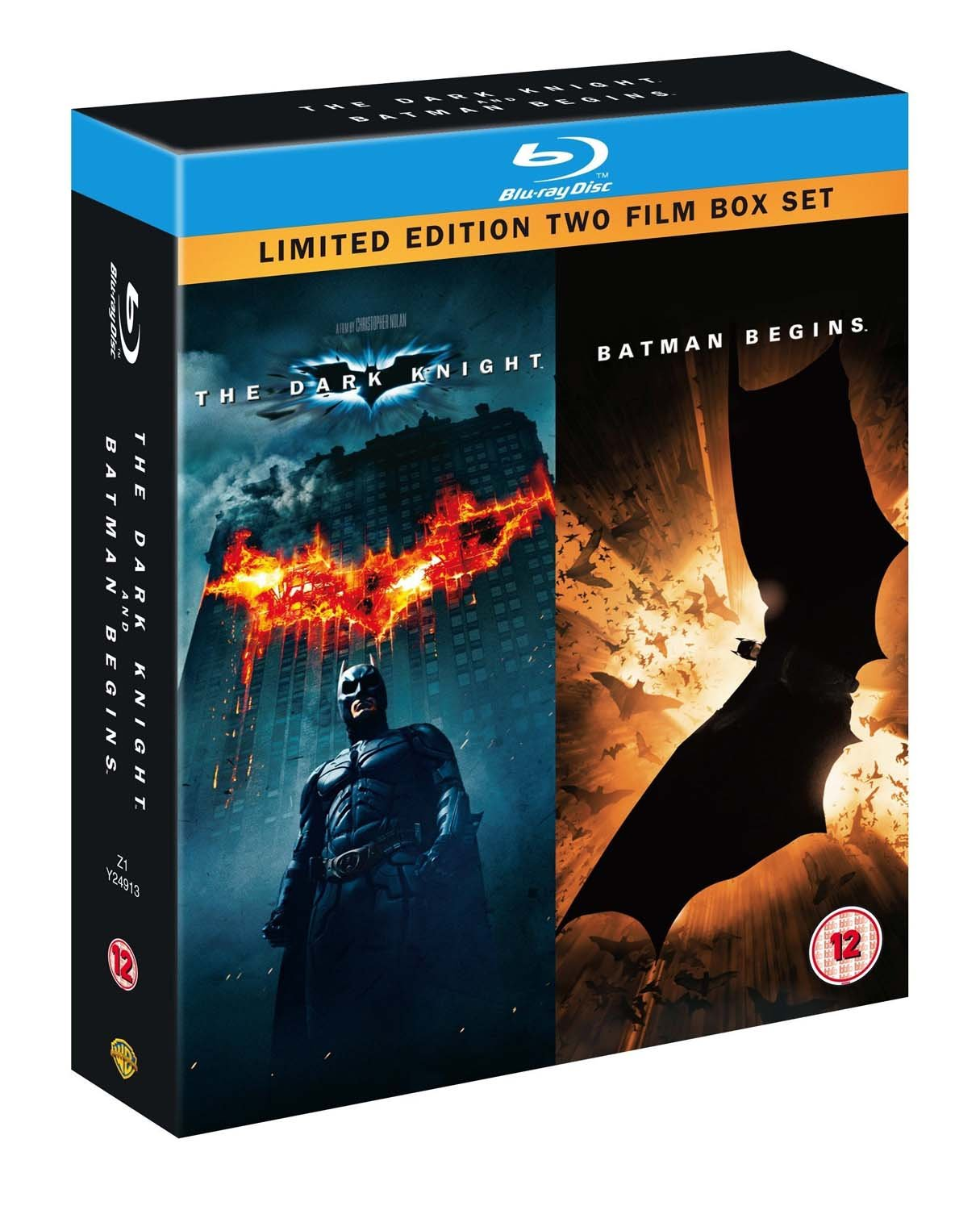 Dark Knight / Batman Begins Double Pack Edizione: Regno Unito ...